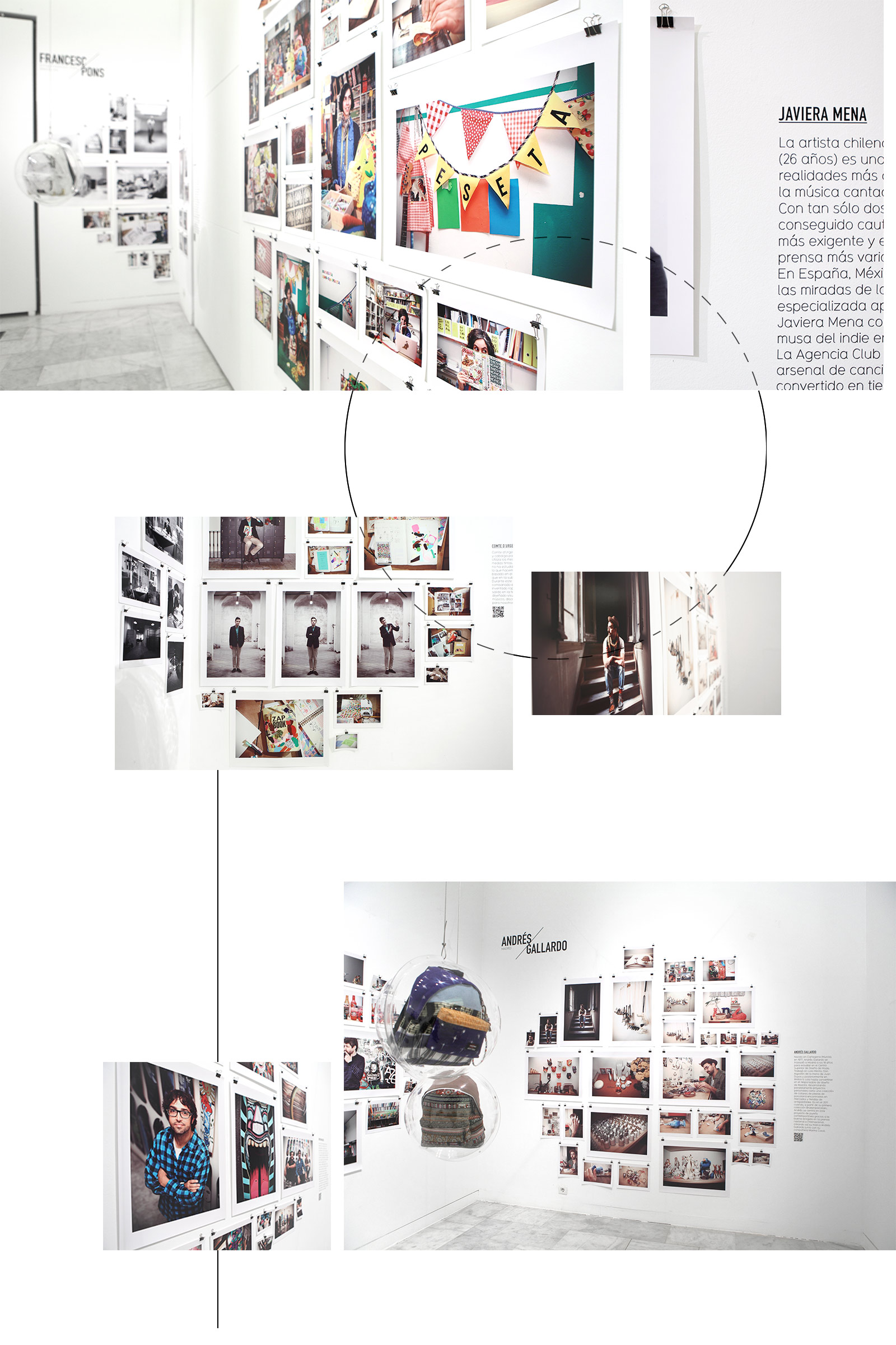 exhibition planning and design Eastpak Artist Studio by Fikera&Quiche